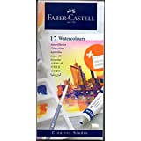 Faber-Castell Creative Studio Watercolours 9 ml Set of 12