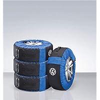 Volkswagen Fundas para neumáticos 000073900E, Kit Completo para Ruedas (hasta 21Pulgadas)