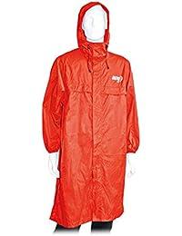 Altus Atmospheric - Poncho Impermeable Unisex, Color Rojo, Talla M-L