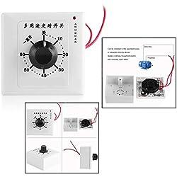 OFKPO Commutateur de Contrôleur de Minuterie 60 Minutes Moteur Interrupteur, 220 V ou 110 V électronique Minuteur Mécanique Commutateur Convient