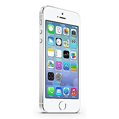 Apple iPhone 5S Argent 32Go Smartphone Débloqué (Reconditionné