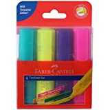 Faber-Castell Ice Textliner - Pack of 4 (Assorted)
