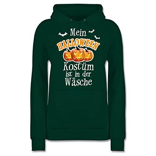 Shirtracer Halloween - Mein Halloween Kostüm ist in der Wäsche - M - Dunkelgrün - JH001F - Damen ()