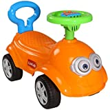LuvLap Bruno Baby Ride On with Music - Orange