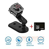 Mini Kamera, ZZW 1080P HD Camcorder, DV-Recorder, 12 million pixels surveillance camera with motion...