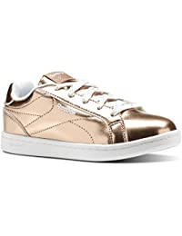 Reebok Royal Complete CLN, Zapatillas de Tenis para Niñas, Rosa (Rose Gold Metallic/White 000), 27 EU
