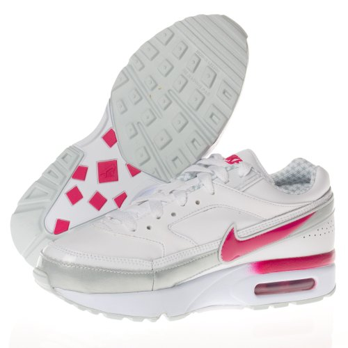 Nike Air Classic BW (PS) 103 WHITE/PINK, size Blanc