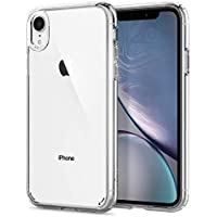 Spigen Coque iPhone XR [Ultra Hybrid] Bumper Renforcé, Protection Coin, Air Cushion, Anti-Choc, Coque Etui Housse pour iPhone XR (6.1 Pouces) (2018) (064CS24873)