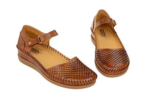 Pikolinos Damen Sandale - Sandaletten CADAQUES Braun