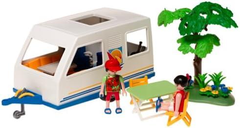Playmobil - 3236 - Caravane et parents | Bonne Réputation Over The World