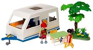 Playmobil - 3236 - Caravane et parents