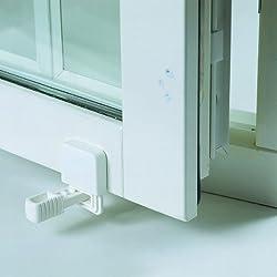Safetots Fensterschloss II für nach innen öffnende Fenster - Weiß