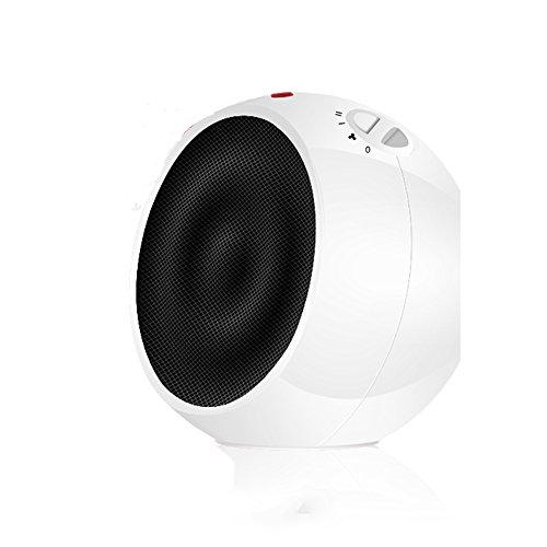 HAIZHEN Radiateur électrique Chauffage Ménage Chauffage céramique PTC pour Mini Bureau Dortoir Hot fan 1500W Économie d'énergie (Couleur : Blanc)