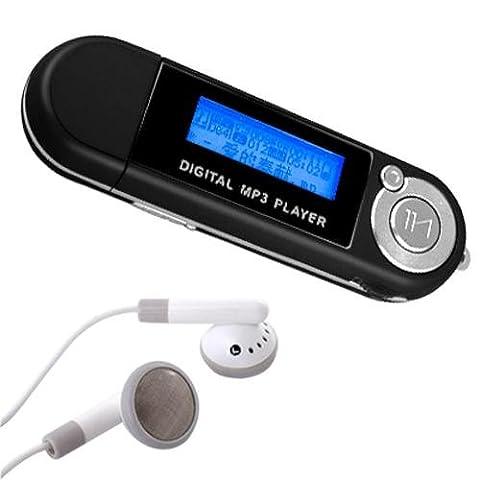 Ecloud Shop USB Baladeur Lecteur MP3 Player 2GB 2Go FM Intégré WMA