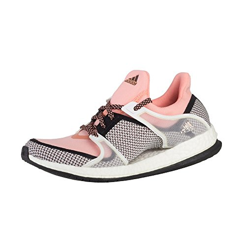 adidas - Pure Boost X TR W - AQ5223 - Couleur: Rose-Blanc-Noir - Pointure: 36.6
