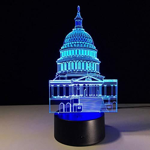 WILRND Luz Nocturna 3D Iluminación Visual 7 Cambio