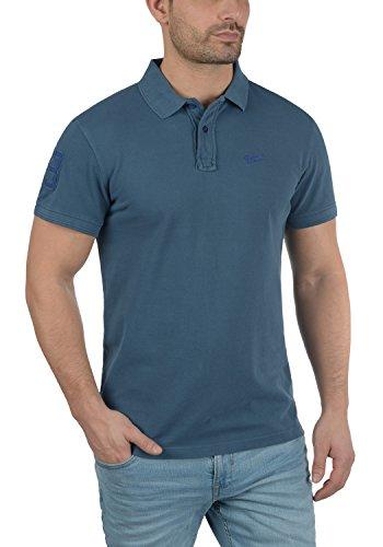 BLEND Dave Herren Poloshirt Kurzarm Shirt mit Polokragen aus 100% Baumwolle  Ensign Blue (70260 ...