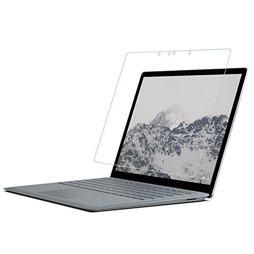 Microsoft Surface Laptop 34,3cm Displayschutzfolie Glas, rbeik Premium kratzfest gehärtetem Glas Displayschutzfolie für Microsoft Surface Laptop 34,3cm PixelSense Touchscreen 2017Release