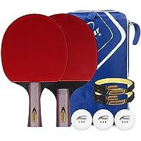 Xianw Table Tennis Paddle Engineered para El Máximo Control Y La Precisión con El Caso del Palo Funcionalmente Y Estructuralmente Diseñado,K