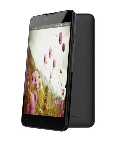 Wind 1 4G LTE Smart Phone, Black, 16 GB