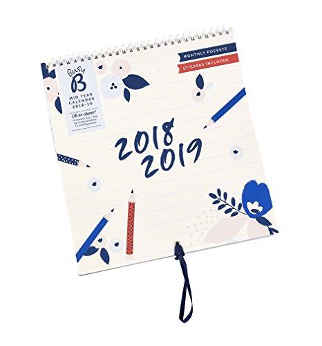 Busy B 7505 Schuljahreskalender Nützliche Bandschlaufe: einfach jeden Monat die Schlaufe durch das Loch ziehen, um den Kalender am gewünschten Ort aufzuhängen! (Einladungen Um Orte,)