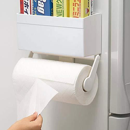 Toilettenpapierhalter, Küchenrollenhalter Magnet Kühlschrank -