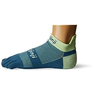 Injinji Run Lightweight Socks No-Show Seafoam 40.5-44