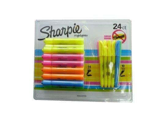 Sharpie Highlighters - Juego 24 rotuladores fluorescentes