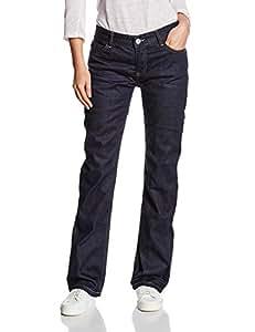 Overlap Jeans moto jeans Raw Valencia avec genouillères, Brut, 28