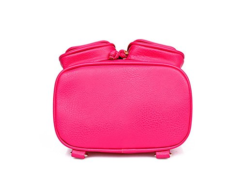 PPL, Borsa a zainetto donna Marrone marrone large rosso