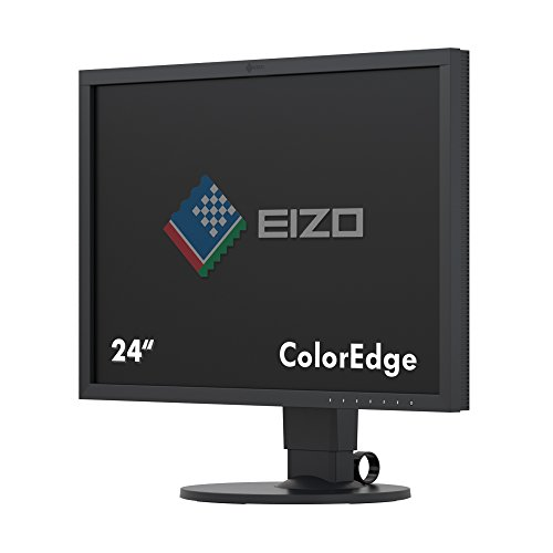 "Eizo ColorEdge CS2420 - Monitor Profesional para Fotografía 24"" (Panel IPS, Resolución 1920 X 1200 Angulo visión 178°, 350 CD, 15 ms, LED, DVI-D, HDMI, DisplayPort), Negro"