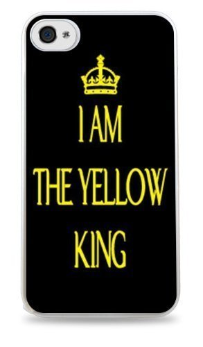 I Am The Yellow King True Detective- White Case for iphone 6 plus 5.5 inch At PLUS6A case