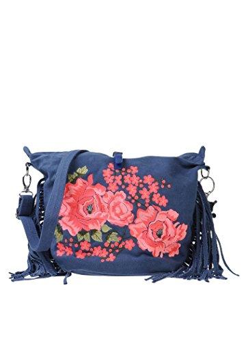 Mia Bag , Sac pour femme à porter à l'épaule bleu bleu