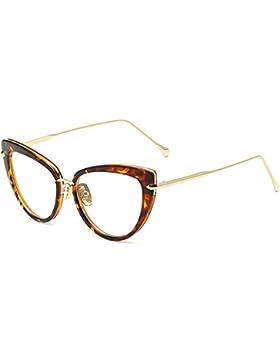 Juleya Vintage Cat Eye Gafas de sol Mujer UV400 Gafas Black Gradient Sunglass