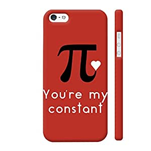 Colorpur iPhone 5 / 5s Cover - Pi You're My Constant Printed Back Case