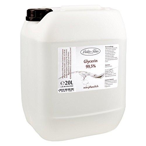Glycerin 99.5% von Doktor Klaus im 20 Liter HDPE Kanister.