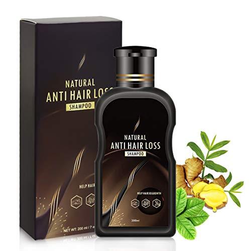 Haarshampoo, Haarwachstums Shampoo, Yaature Anti Haarverlust Shampoo Haar Pflegeshampoo für Anti-Haarausfall, Regenerierend, Stärkend, Wachstumsfördernd, Behandlung für Damen & Herren - 200ml
