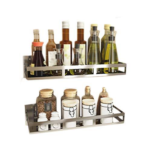 Gewürz-Küchen-Gestell 304 Edelstahl-Abfluss an der Wand befestigter MultifunktionsHaushalts-Speicher 43.5cm * 15.2cm * 5.3cm CHENGYI -