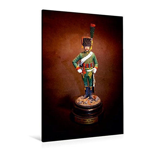 Premium Textil-Leinwand 80 cm x 120 cm hoch, Garde Jäger, Frankreich 1808 | Wandbild, Bild auf Keilrahmen, Fertigbild auf echter Leinwand, Leinwanddruck (CALVENDO Hobbys)