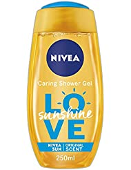 NIVEA Shower Gel with Aloe Vera, Sunshine Love, 250 ml