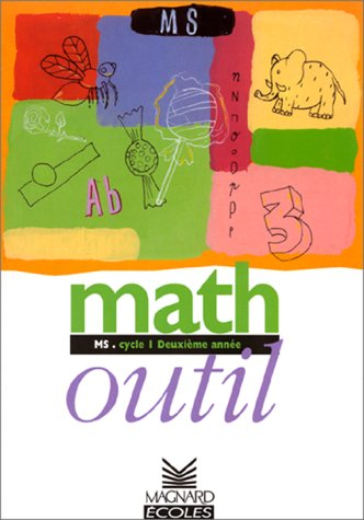 Math outils, MS, cycle 1, 2e année
