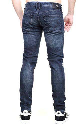 Pepe Jeans - Jeans Hatch Pm200823d99 Brut Bleu