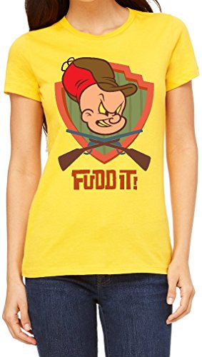elmer-fudd-it-guns-crossed-funny-womens-t-shirt-x-large