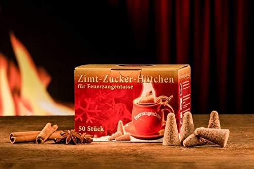 Zimt-Zucker-Huetchen (50 Stueck im Karton)