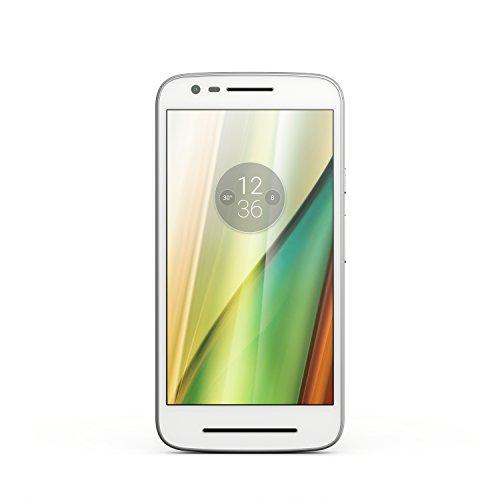 Lenovo Moto E3 Smartphone débloqué 4G (Ecran : 5 pouces - 8 Go - Simple SIM - Android 6.0 Marshmallow) Blanc