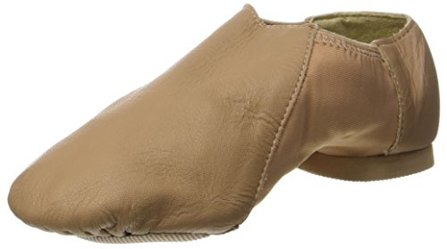 So Danca Jze45, Zapatillas de Jazz para Niñas, Beige Caramel, 33/34 EU