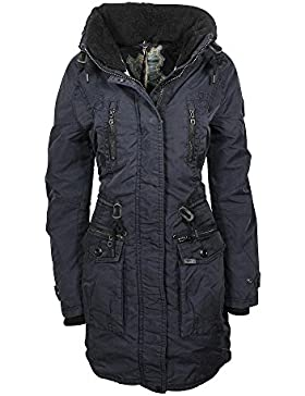 Khujo Claire chaqueta navy