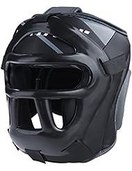"'Vantage–Protector de cabeza ""Combat Full Face–Protector de cabeza para cajas MMA Kickboxing Muay Thai"