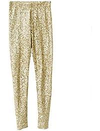 677f59d6edf5e Starstreetcom Womens Sequin Leggings Ladies Stretch Elasticated Silver Gold  Pants Disco Leggings Jeggings Tights