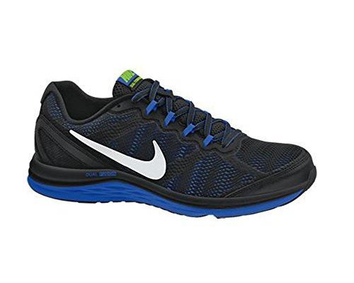 Nike Dual Fusion Run 3 653596 Herren Laufschuhe Training Schwarz